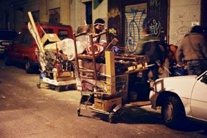 Dia de recogida de trastos en barcelona
