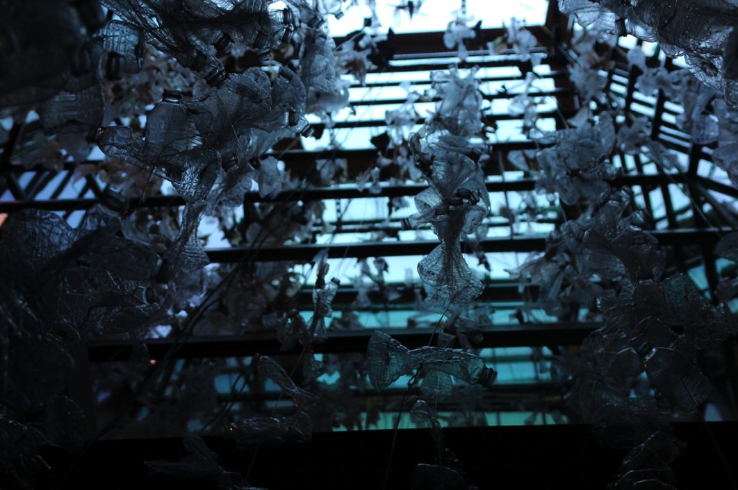 Completed installation, view from below