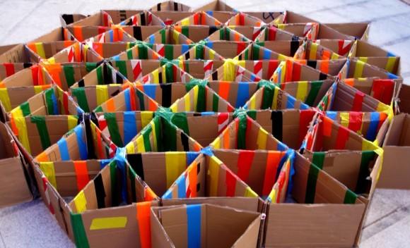 Delirios con cartón: 'Crear Toledo'