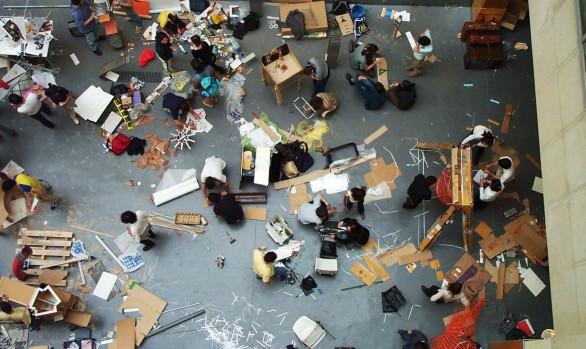 Festival basurama 01. Concurso de reciclaje