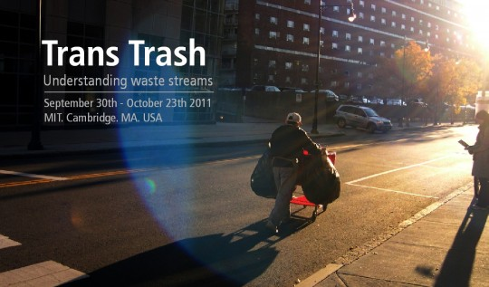 Trans Trash Exhibition, MIT, Cambridge, Massachusetts