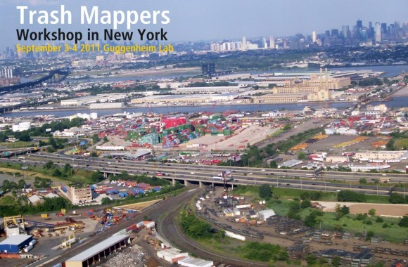 Taller Trash Mappers en Nueva York