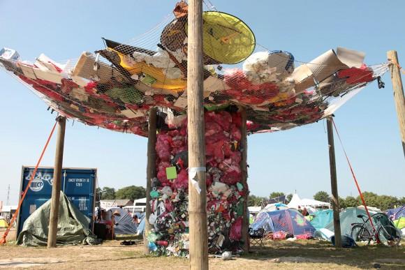 """The Whirlpool of waste"" - Roskilde Festival 2013"