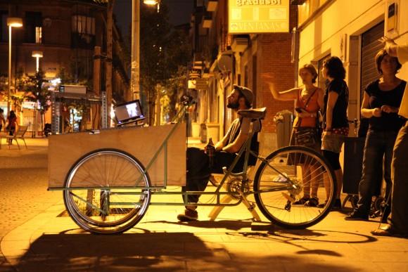 Yo ♥ Guindalera. Urban Action with Bicinecleta.