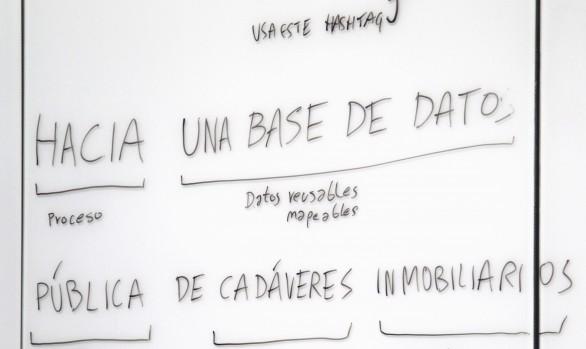 Encuentro Hacia una base de datos pública de cadáveres inmobiliarios