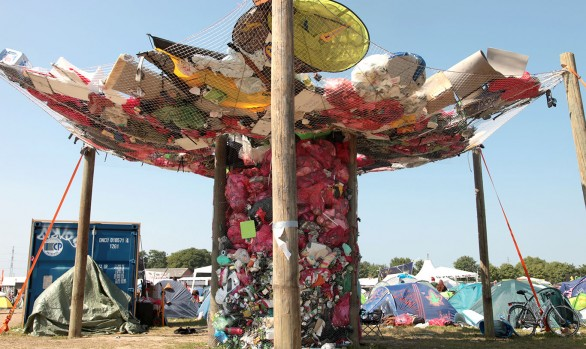 """The Whirlpool of waste"" - Roskilde Festival 2013"